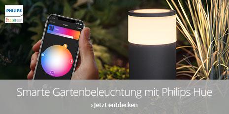 Smarte Gartenbeleuchtung mit Philips Hue