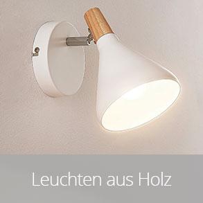 Holz-Leuchten