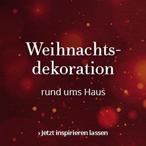 Weihnachtsdekoration: Rund um's Haus