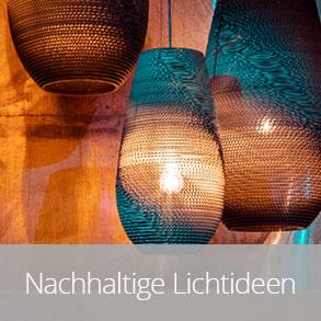Nachhaltige Lichtideen