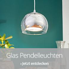 Glas-Pendelleuchten