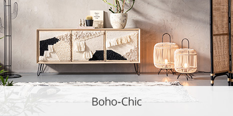 Boho-Chic-Lampen