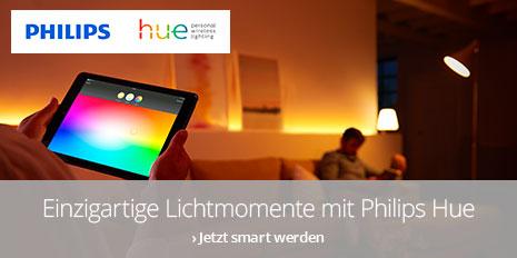 Philips Hue: Einzigartige Lichtmomente