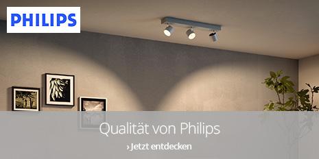 Qualität von Philips: Stilvolle Leuchten für moderne Räume