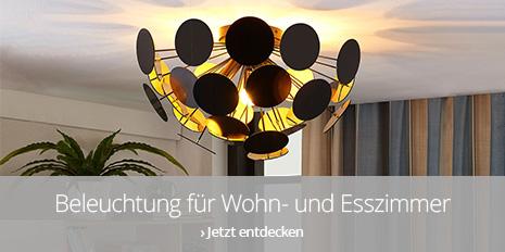 Beleuchtung für Wohn- und Esszimmer