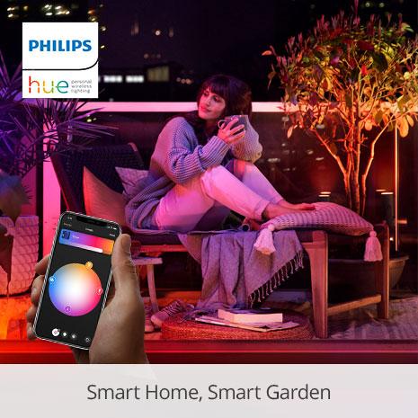 Philips Hue: Smart Home, Smart Garden