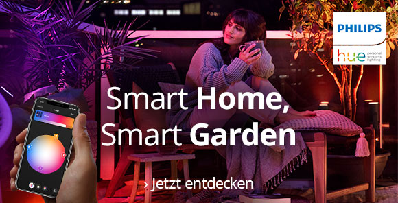 Philips Hue: Smart Home, Smart Garden