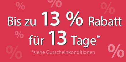 13%-Aktion