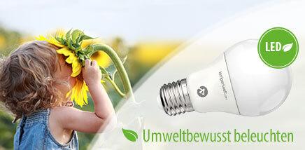 LED umweltbewusst beleuchten