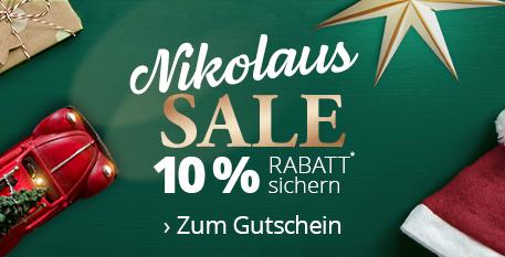 Nikolaus Sale - 10% Rabatt* sichern