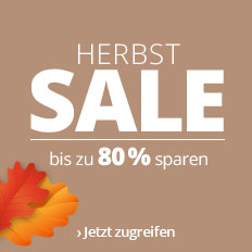 Bis zu 80 % sparen!