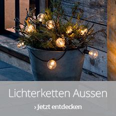 Lichterketten für aussen