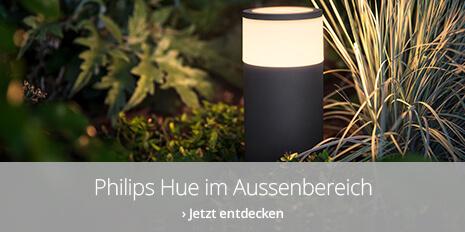 Philips Hue-Produkte für den Aussenbereich