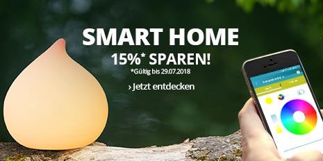 15 % auf Smart & Green-Produkte