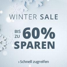 Wintersale: Bis zu 60 % sparen