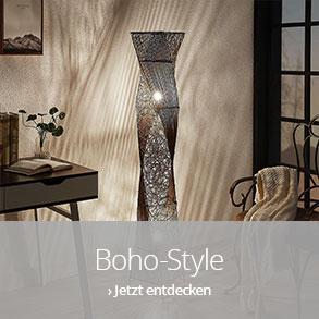 Lampen im Boho-Style