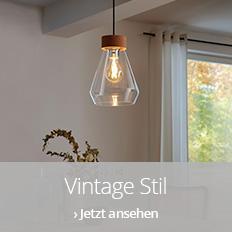 Leuchten im Vintage-Stil