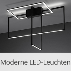 Moderne LED-Leuchten