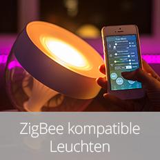 ZigBee kompatible Leuchten