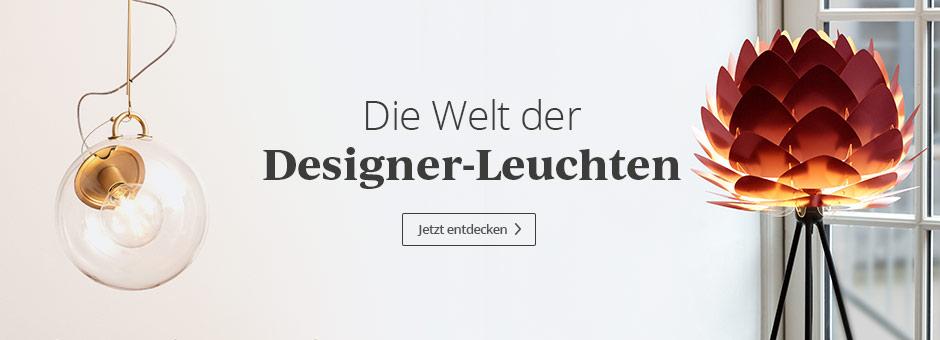 Die Welt der Designer-Leuchten