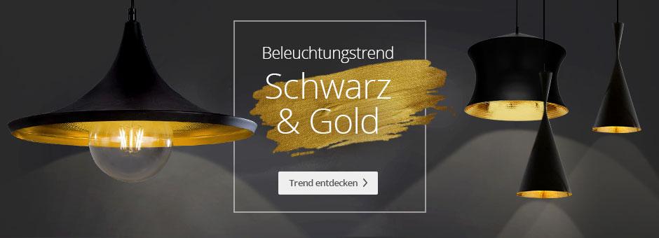 Schwarz-Gold-Trend