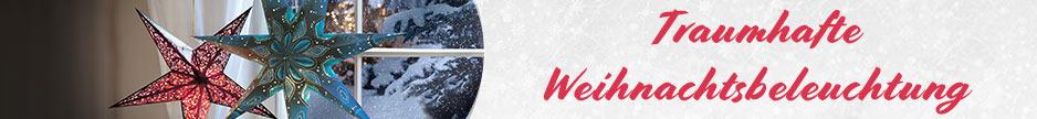 Neue Themenwelt: Traumhafte Weihnachtsbeleuchtung