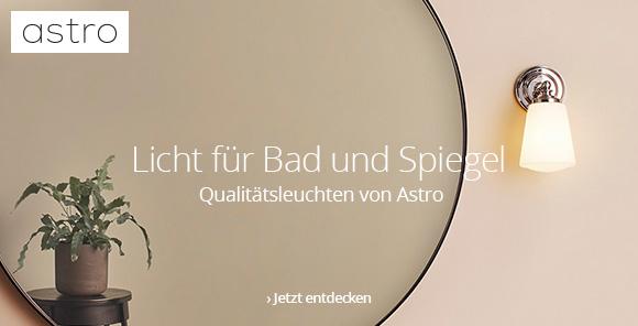 Qualitätsleuchten von Astro: Licht für Bad und Spiegel