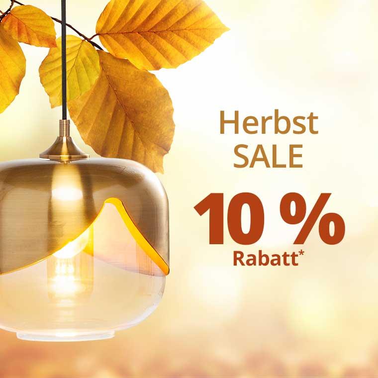Herbst Sale: 10 % Rabatt