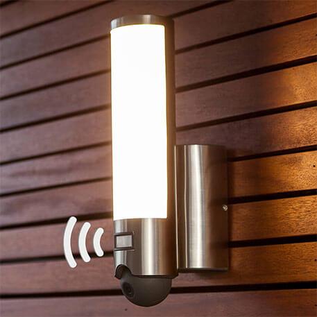 Kamera integriert - LED-Außenwandlampe Elara Cam (3006507)