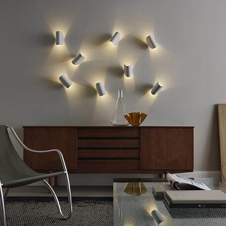 Wandlampen als Inszenierungsmittel