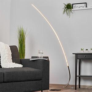 Minimalistische LED-Stehlampe Madeleine
