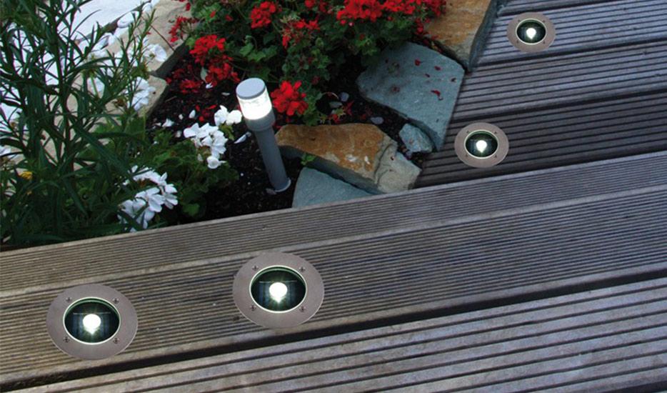 Solar-LED-Bodeneinbauleuchte Verona