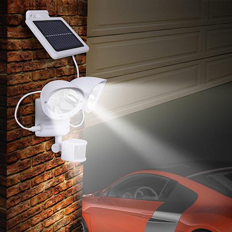 Maex - Sensor-Solarleuchte für die Wand 2-flg.