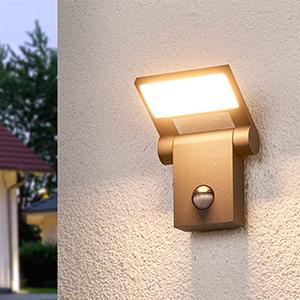 Marius - Sensor-Aussenwandleuchte mit LEDs