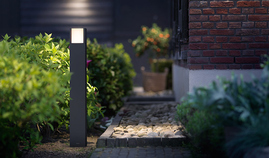 Philips Arbour LED-Pollerleuchte anthrazit IP44