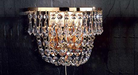Wie sind Kristallwandleuchten zu reinigen?