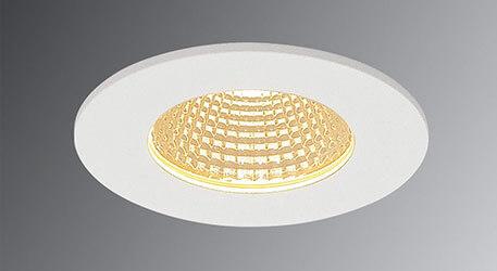 SLV Patta-I LED-Einbauleuchte rund, weiss matt