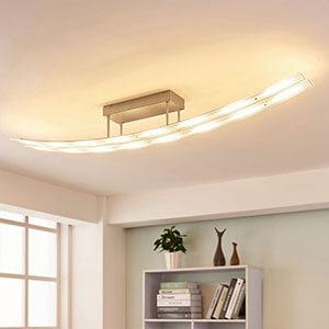 Dimmbare LED-Deckenleuchte Jarda