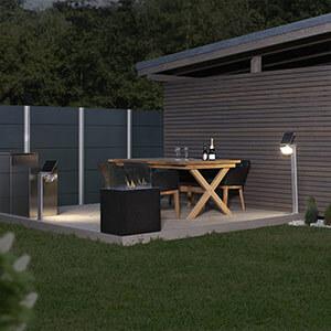 STEINEL XSolar Stand LED-Solarleuchte weiss