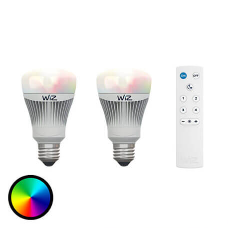 LED-Lampe 2er mit Fernbedienung