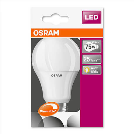 LED-Lampe Superstar, dimmbar