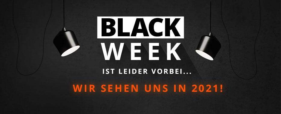 Black Week ist leider vorbei