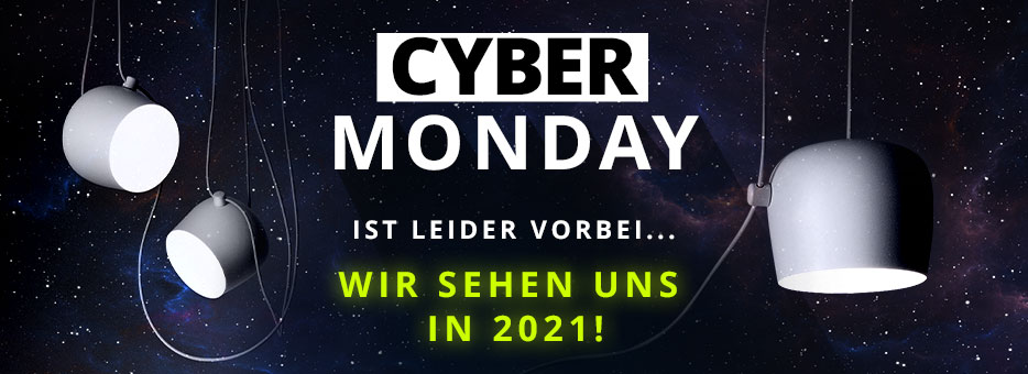 Cyber Monday ist leider vorbei