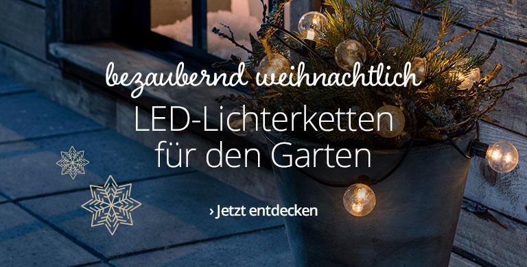 LED-Lichterketten für außen