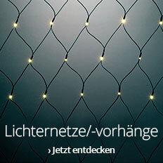 Lichternetze/-vorhänge