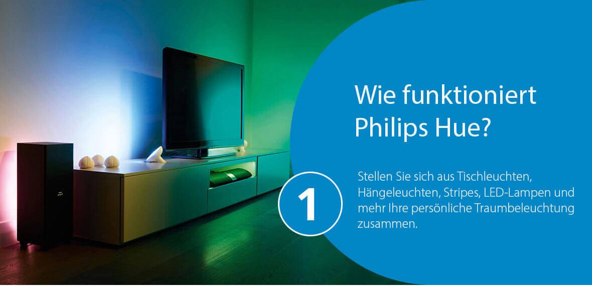 Wie funktioniert Philips Hue?