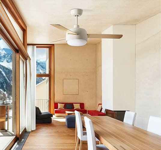 Ventilatoren mit Winterbetrieb