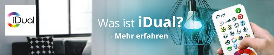 Weitere Informationen zu iDual LED-Lichtsteuerung