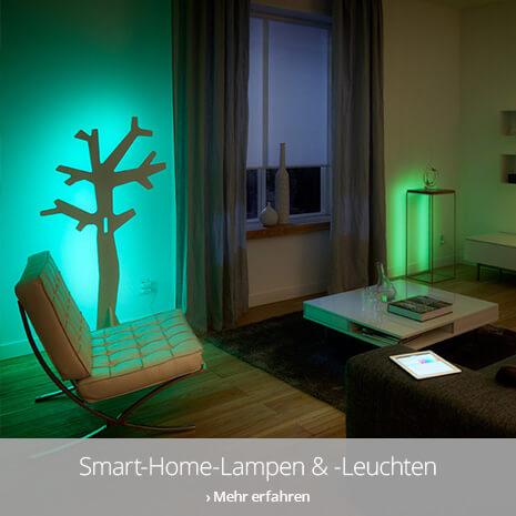 Smart Home-Lampen und -Leuchten