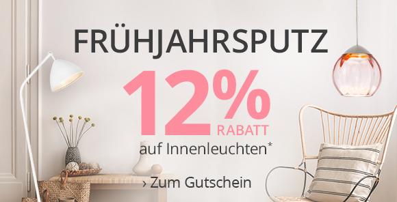 Frühjahrsputz - 12% Rabatt* sichern